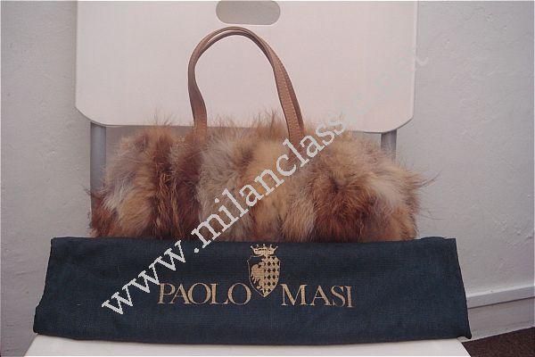 Paolo Masi Mink Fur Handbag 高贵水貂毛手提袋