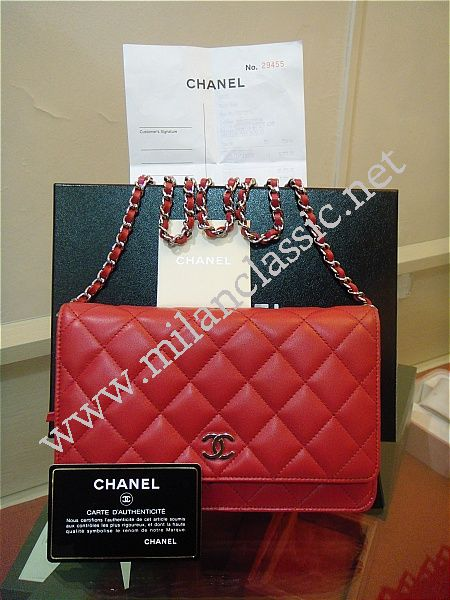 Chanel Bag Lambskin Lambskin Small Sling Bag