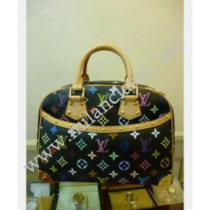CHERAS Transfer to Thailand-LV Monogram Multicolor Black Trouville