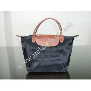 SOLD (已出售)-NEW - Longchamp Lepliage Black Short Handle(Small)