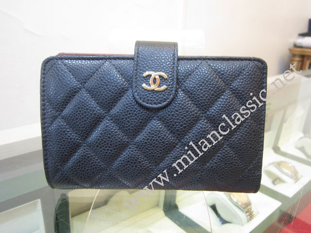 2a23bf628ed6 Chanel Short Wallet Black Caviar | Stanford Center for Opportunity ...