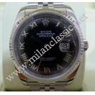 "Rolex 116234 Black Dial with Roman Letter 18K+SS Auto 36mm ""D-Series"" ( with Box )"