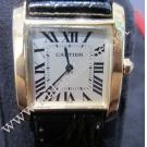 Cartier Tank Francaise Ladies 1821 18K Yellow Gold 25x22mm (With Box)