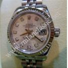 "Rolex 179174 Lady M.O.P With Diamond Index Dial Auto S/S 26mm ""D-Series"" (With Box + Paper)"