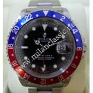 "Rolex 16710 GMT Master II Blue/Red Bezel S/S Auto 40mm ""P-Series""(With Verified Paper + Box)"
