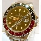 Rolex 16710 Gmt Master II Black/Red Auto S/S 40mm ( With Box )