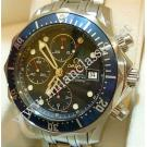 Omega Seamaster Diver Chrono Blue Dial Auto S/S 42mm (With Box + Card)