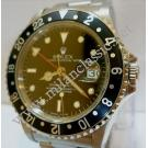Rolex 16700 Gmt Master Black Bezel Auto S/S 40mm (With Box + Paper)