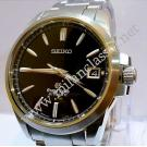 Grand Seiko Black Dial S/S Auto 38.5mm (With Card + Box)