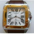 Cartier Santos 100 XL 18K/SS Auto 38mm (With Box)