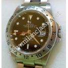 "Rolex 16570 Explorer II Black Dial S/Steel Auto ""F-Series"" 40mm (With Paper + Box)"