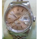 "Rolex 16220 Silver Dial Auto S/S 36mm ""D-Series"" (With Box)"