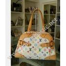 LV Monogram Multicolor White Claudia
