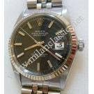 Rolex 1601 Black Dial Auto 18K/SS 36mm