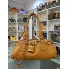 Chloe Brown Full Leather Shoulder Bag