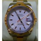 "Rolex 116261 Turn-O-Graph 18K Rose Gold + Steel Auto 36mm ""F Series"" (With Box)"