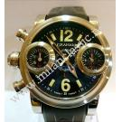 Graham-Swordfish Left Chrono S/S Auto 44mm (With Box + Paper)