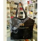 Ferragamo Black Full Leather Shoulder Bag-NETT-