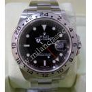 "Rolex 16570 Explorer II Black Dial S/S Auto 40mm ""F-Series"" (With Paper + Box)"