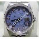 Rolex 16234 18k+S/S Blue Sodalite With Diamonds Auto 36mm (With Box)