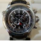 LIMITED - Jaeger-Lecoultre Master Compressor Chrono Extreme World Chrono Steel/Titanium Auto 46mm (Card + Box)
