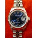 Rolex 79174 Lady Blue With Roman Letter 18K+SS Auto 26mm (With Paper + Box)