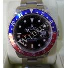 "Rolex 16710 GMT Master II Blue/Red Auto S/S 40mm ""D-Series"" ( With Box)"