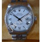 Rolex 16030 Gents White Dial Roman Letter S/S Auto 36mm (With Box)