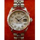 Rolex 69174 Lady Pink M.O.P. With Diamond 18K+SS Auto 26mm (With Paper + Box)