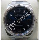 "Rolex 114210 Airking Blue Dial Auto S/S 34mm ""Z-Series"" ( With Card + Box )"