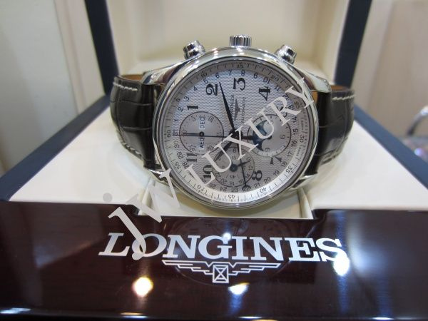 how to change date on longines master collection