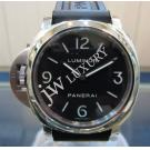 "Panerai Luminor Base Left-Handed S/S Winding 44mm ""PAM00219"" (With Card + Box)"