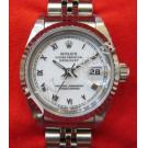 "Rolex 69174 Lady White Dial With Roman Letter 18K+SS Auto 26mm ""S-Series"" (With Card + Box)"