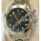 Omega Seamaster Chrono Blue Dial Auto S/S 41mm (With Box + Card)