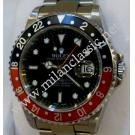 Rolex 16710 GMT Master II Black/Red Bezel Auto S/S 40mm (With Box + Paper)