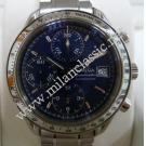 Omega Speedmaster Chrono Triple Date Blue Dial S/S Auto 38mm(With Box)