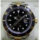 Rolex 16613 Submariner Black Dial 18K+SS Auto 40mm (With Box)