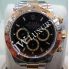 "Rolex 16523 Daytona 18K/SS Black Dial Auto 40mm ""S-Series Zenith Movement"" ( With Box )"