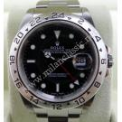 Rolex 16570 Explorer II Black Dial S/S Auto 40mm (With Box)