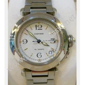 SOLD-Cartier Pasha C White Dial Auto S/S 35mm