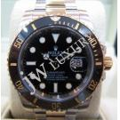 Rolex 116613LN Submariner Black Ceramic Bezel 18K/SS Auto 40mm (With Card + Box)