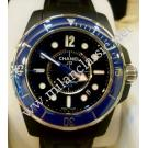 Chanel J12 Marine Blue Ceramic Bezel Auto Ceramic/Rubber 42mm (With Card)