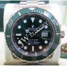 Rolex 116610LV Submariner Green Ceramic Bezel S/S Auto 40mm (With Card + Box)