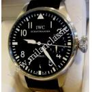IWC Big Pilot 7 Days Power Reserve Black Dial Auto Steel/Leather 46mm