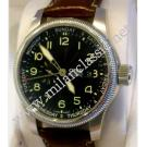 RESERVED WITH DEPOSIT - Oris-Aviation Big Crown Small Second Auto Black Dial/Leather 44mm (With Box + Card)