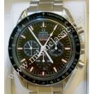 Omega Speedmaster Racing Chrono Black Carbon Fiber Dial Auto S/S 40mm (With Box)