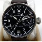 "IWC Big Pilot First Series ""FISH CROWN"" 7 Days Power Reserve  S/S Auto 46mm (With Card + Box)"