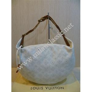 LIMITED - LV Beige Mahina Perforated Onatah GM