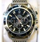 Omega-Seamaster Planet Ocean CO-Axial Chrono Auto S/S 45.5mm (With Card + Box)