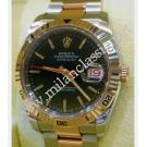 "RESERVED WITH DEPOSIT-Rolex-116261 Turn-O-Graph Black Dial Auto 18K Rose Gold / Steel 36mm ""D-Series"" (With Box + Paper)"